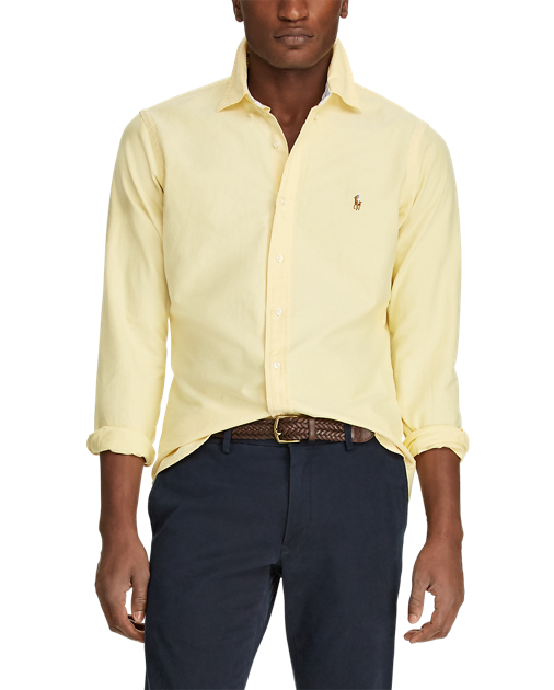 POLO RALPH LAUREN - LS Sport Shirt Oxford Gul