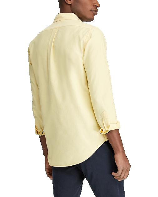 POLO RALPH LAUREN - LS Sport Shirt Oxford Gul