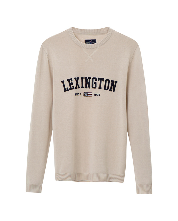 LEXINGTON - Nelson Knitted Beige