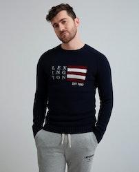 LEXINGTON - Dylan Sweater Blå