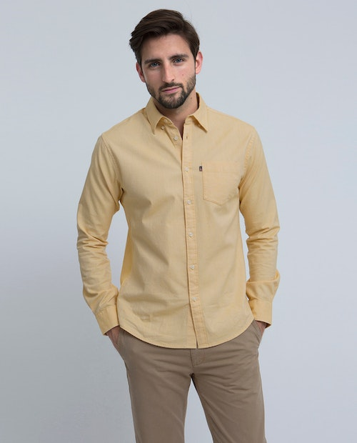 LEXINGTON - Kyle Oxford Shirt Gul