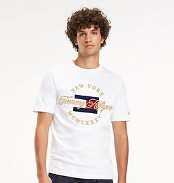 TOMMY HILFIGER - Icon New York T-shirt Vit