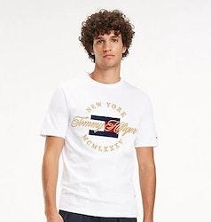 TOMMY HILFIGER - Icon New York T-shirt Vit