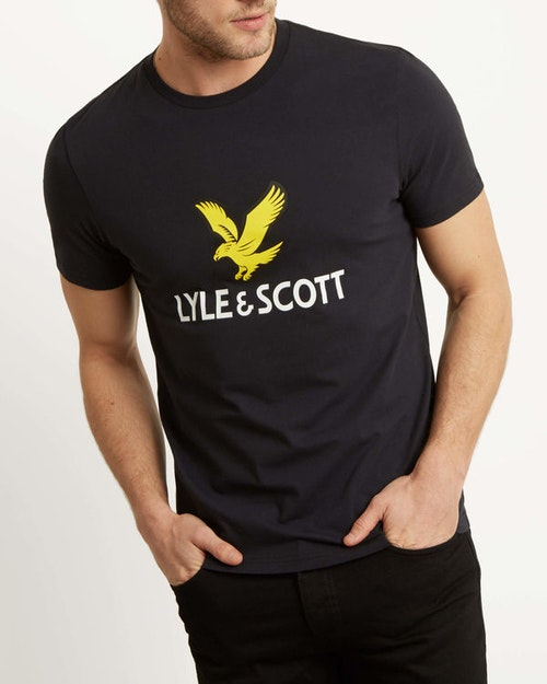 LYLE & SCOTT - Logo T-shirt Svart