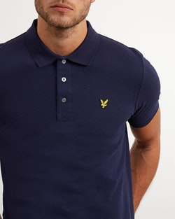 LYLE & SCOTT - Polo Shirt Blå