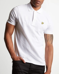 LYLE & SCOTT - Polo Shirt Vit