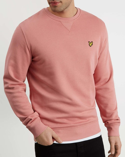 LYLE & SCOTT - Crew Neck Sweatshirt Rosa