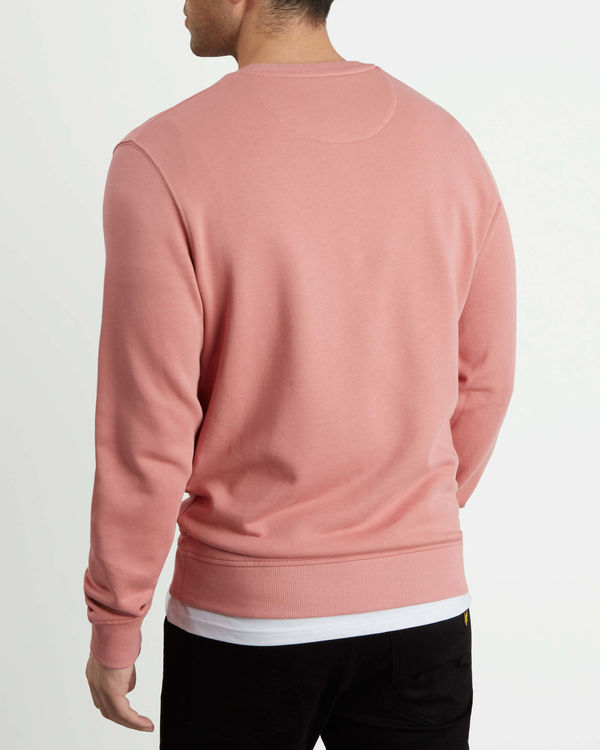 LYLE & SCOTT - Crew Neck Sweatshirt Rosa