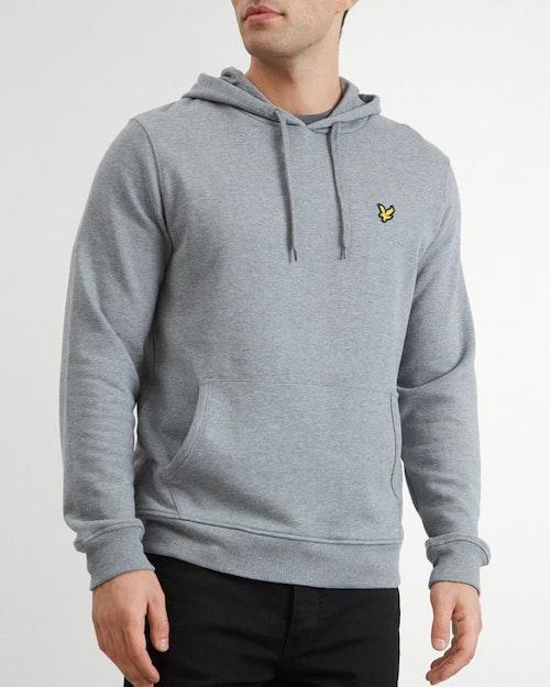 LYLE & SCOTT - Pullover Hoodie Grå