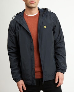 LYLE & SCOTT - Zip Hooded Jacket Blå