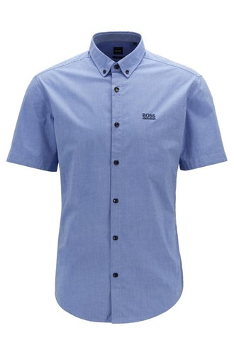HUGO BOSS - Biadia Shirt Blå