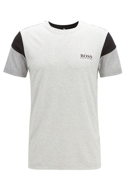 HUGO BOSS - TL-Tech Slim-Fit T-Shirt Grå
