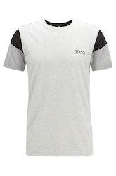 HUGO BOSS - TL-Tech Slim-Fit T-Shirt Grå