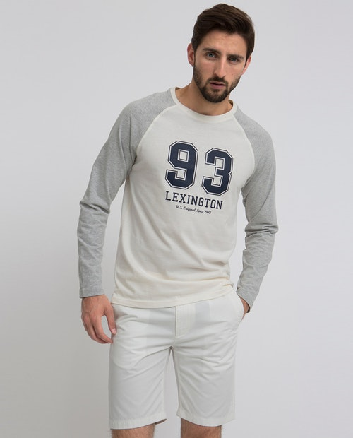 LEXINGTON - Seth Long Sleeve Beige