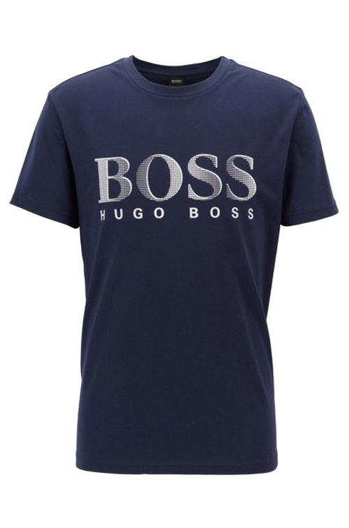HUGO BOSS - Relaxed T-shirt Blå