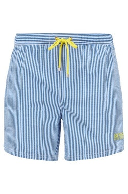 HUGO BOSS - Velvetfish Striped Swim Shorts Randig