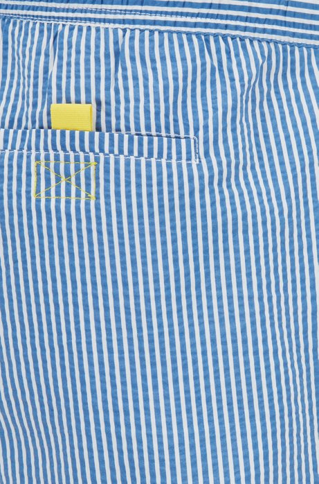 HUGO BOSS - Velvetfish Striped Swim Shorts Randig
