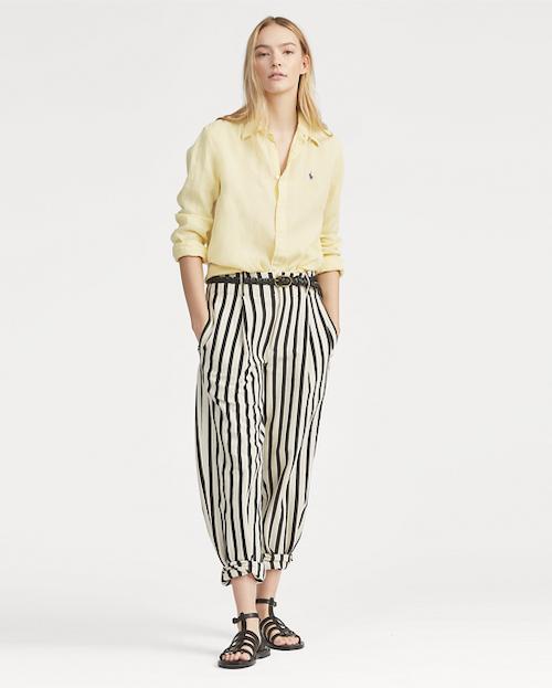 POLO RALPH LAUREN - Relaxed Long Sleeve Shirt Gul