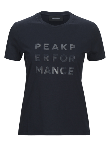 PEAK PERFORMANCE - W Grotee Ground T-shirt Blå