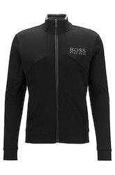 HUGO BOSS - Skaz Regular Fit Sweatshirt Svart
