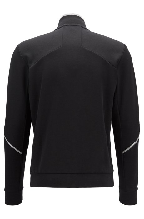 HUGO BOSS - Skaz Regular Fit Sweatshirt Svart