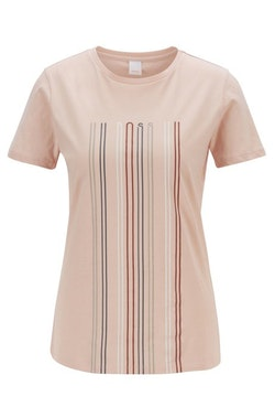HUGO BOSS - Teblurred T-shirt Rosa