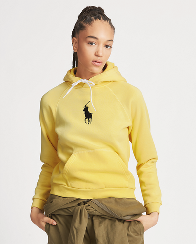 POLO RALPH LAUREN - Classic Long Sleeve Big Pony Hoodie Gul