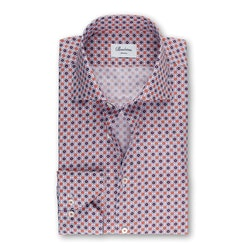 STENSTRÖMS - Slimline 90 Shirt With Pattern Röd