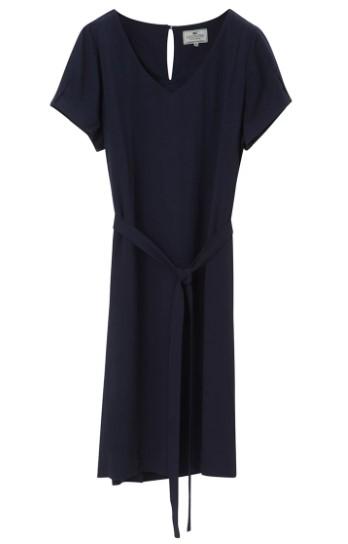 TOMMY HILFIGER - Kristina Solid Dress Blå