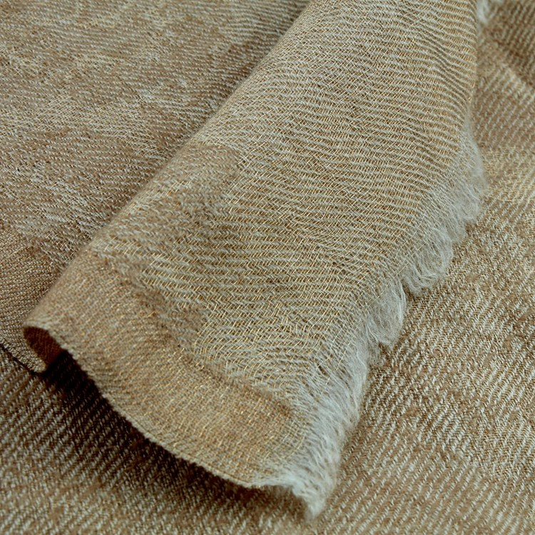 STENSTRÖMS - Scarf Metallic Beige