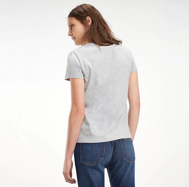 TOMMY HILFIGER - Heritage Crew Neck T-Shirt Grå