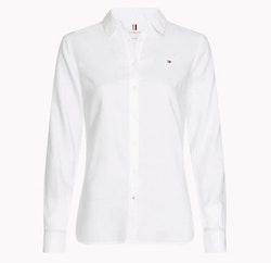 TOMMY HILFIGER - Heritage Regular Fit Shirt Vit
