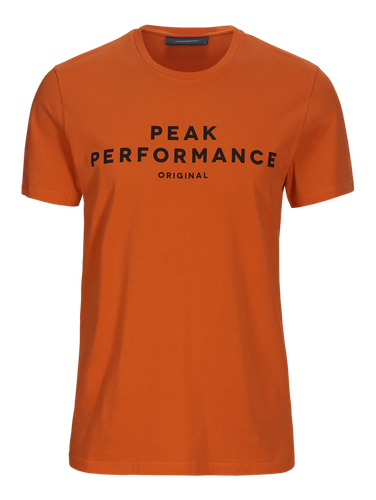 PEAK PERFORMANCE - M Original T-Shirt Orange