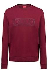 HUGO BOSS - Dicago u6 Sweatshirt Röd