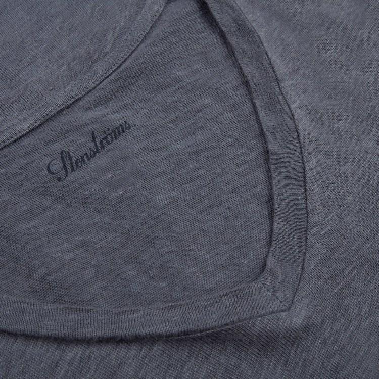 STENSTRÖMS - Jersey Linen Shirt Blå