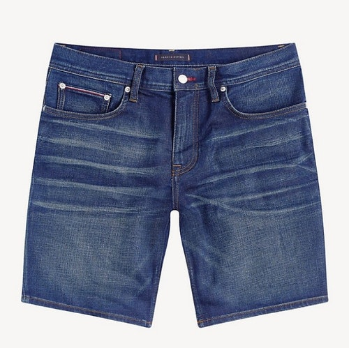 TOMMY HILFIGER - Brooklyn Denim Shorts Blå