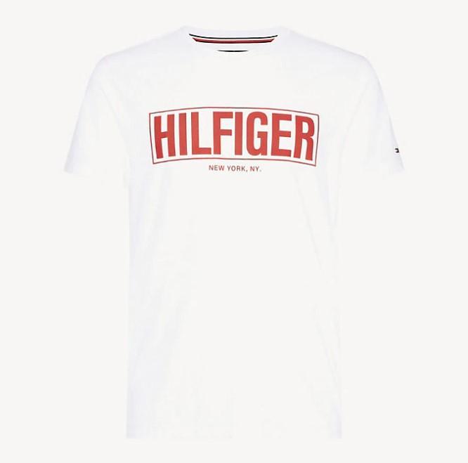 TOMMY HILFIGER - Box Hilfiger Tee Vit