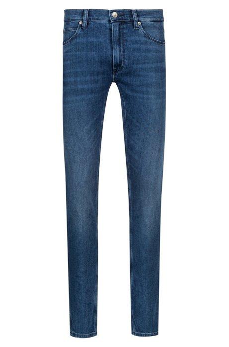 HUGO BOSS - Hugo Skinny-fit Jeans Blå