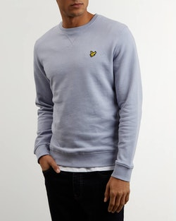 LYLE & SCOTT - Crew Neck Sweatshirt Blå