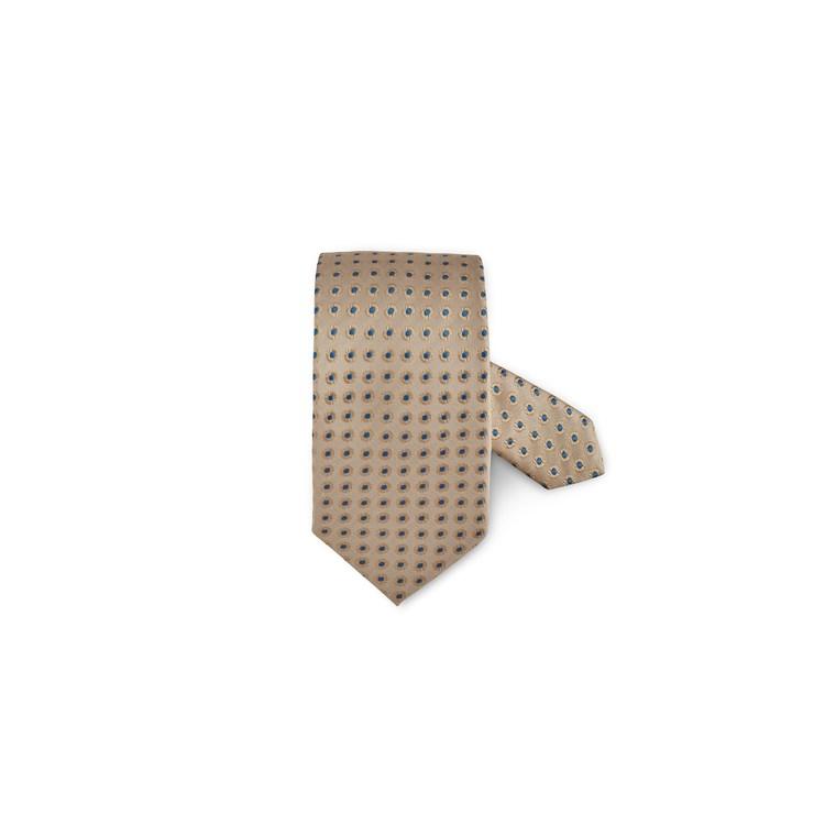 STENSTRÖMS - Tie Silk Gul/Beige