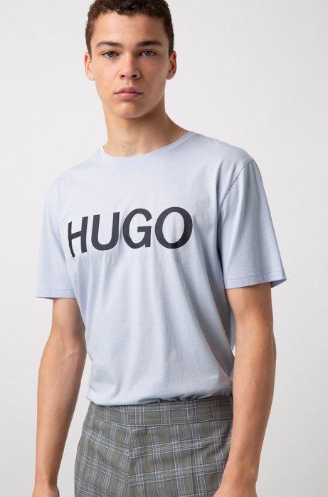 HUGO BOSS - Dolive Logo T-shirt Blå