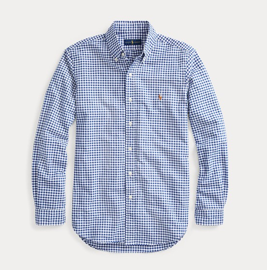 POLO RALPH LAUREN - Sp Long Sleeve Sport Shirt Blå