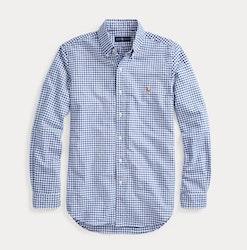 POLO RALPH LAUREN - Sp Long Sleeve Sport Shirt Blå