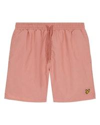 LYLE & SCOTT - Plain Swim Shorts Rosa