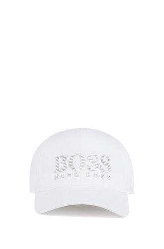 HUGO BOSS - Jersey Boss Cap Vit