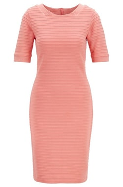 HUGO BOSS - Deshape Bodycon Dress Rosa