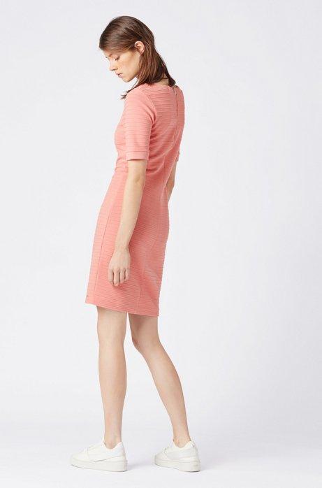 HUGO BOSS - Deshape Bodycon Dress Rosa