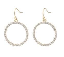 SNÖ OF SWEDEN - Josephine Pendant Earring Guld