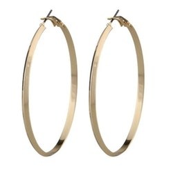 SNÖ OS SWEDEN - Gwen Big Earring Plain Gold