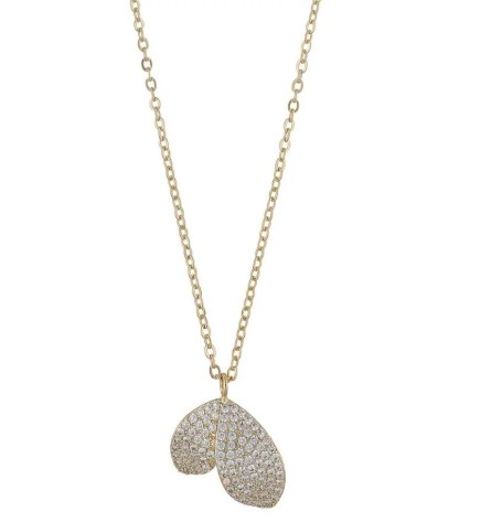 SNÖ OF SWEDEN - Fiona Small Pendant Necklace Guld